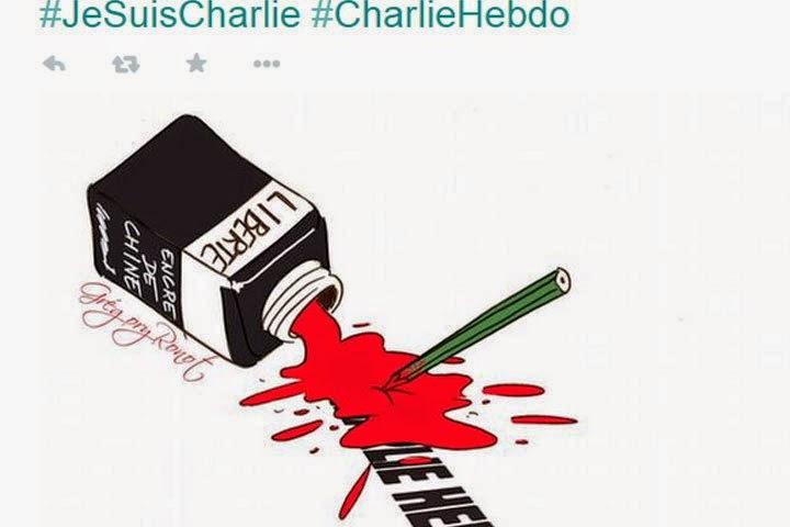 #JesuisCharlie  #JesuisAhmed